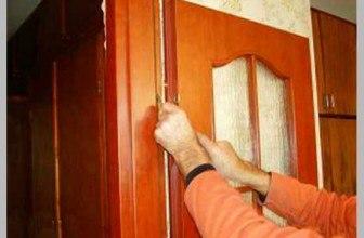Установка доборов на межкомнатные двери своими руками— видео