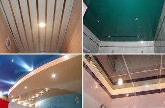 Потолок в ванной комнате— какой выбрать и как установить?