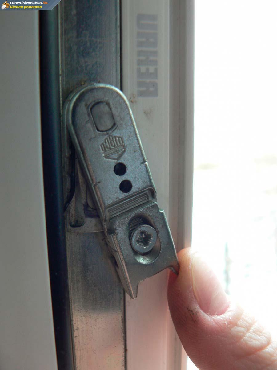 Антиоткрывание окна