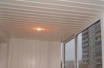 Схема установки пластиковых панелей на потолок
