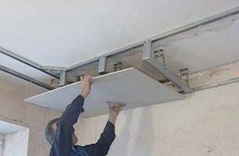 Потолок из гипсокартона— быстро и качественно!