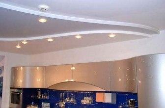 Потолок на кухне— как выбрать?