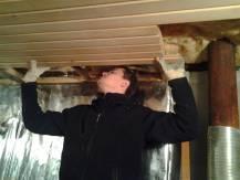 Потолок в бане своими руками— 2 эффективных метода