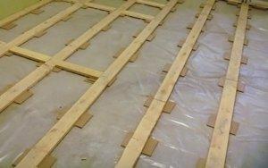 Основные методы, как выровнять старый деревянный пол под ламинат своими руками