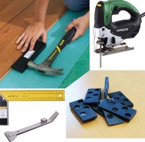 Какие нужны инструменты для укладки ламината своими руками