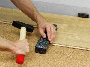 Как производится укладка ламината на линолеум и можно ли положить его без подложки
